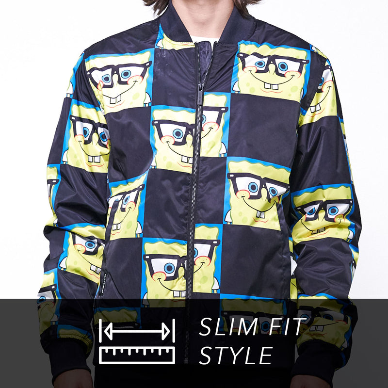 Nickelodeon Spongebob Bomber Jacket