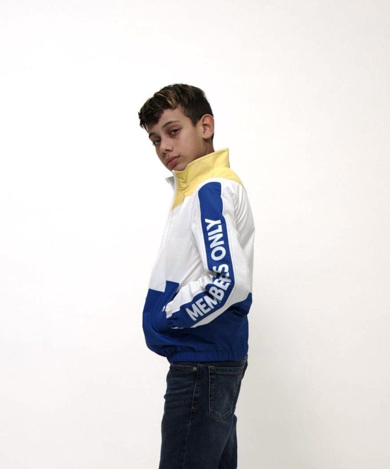 Clearance - Boy's Nautical Color Block Jacket