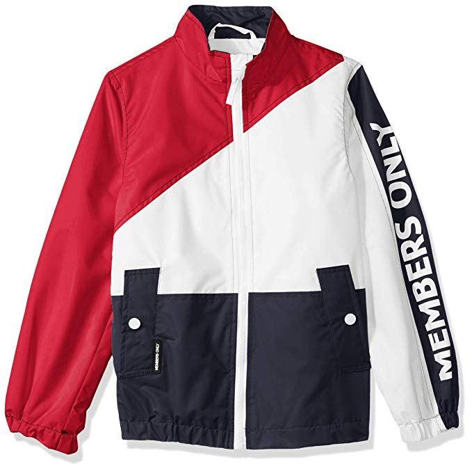 Boy's Nautical Color Block Jacket