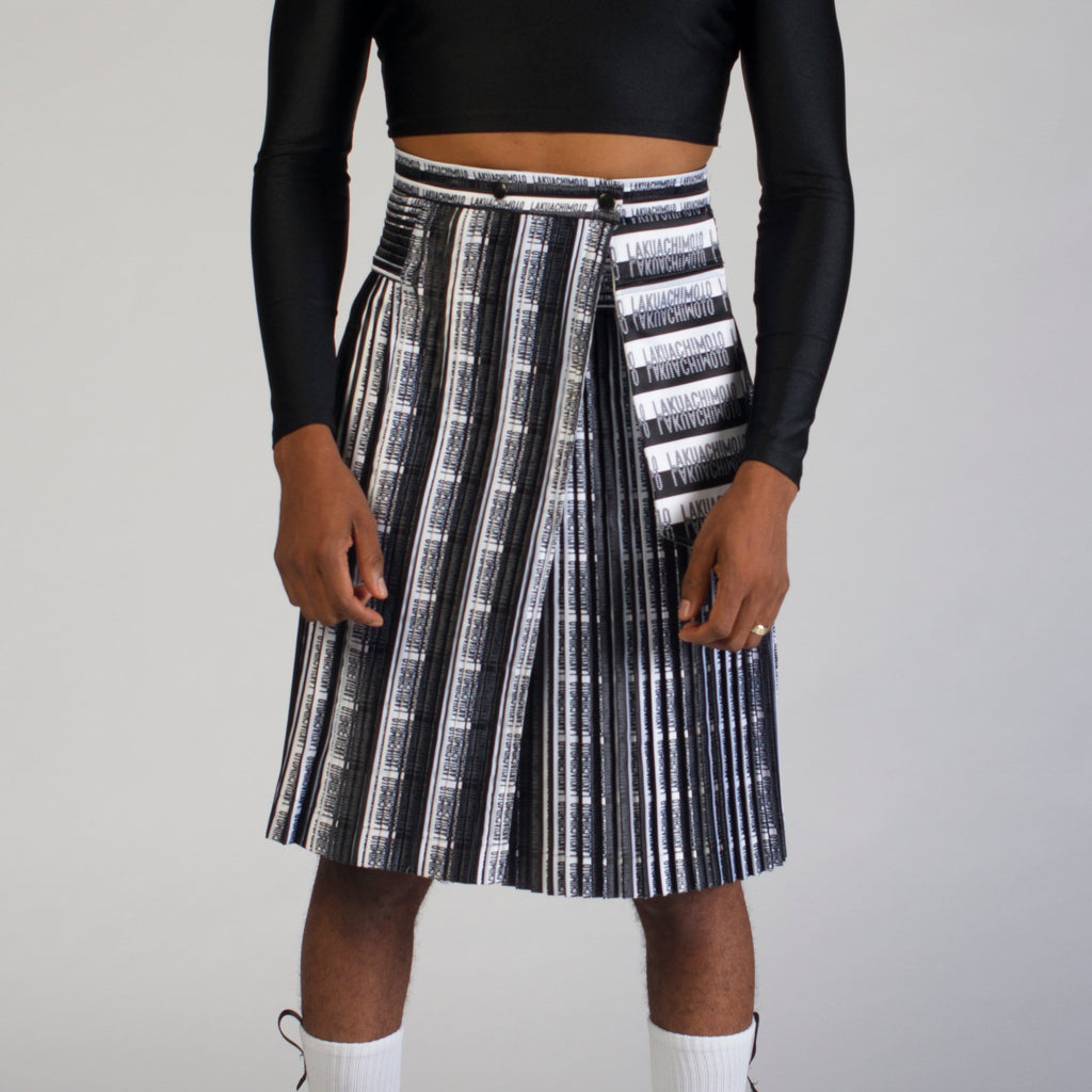 ANATOMIK printed skirt
