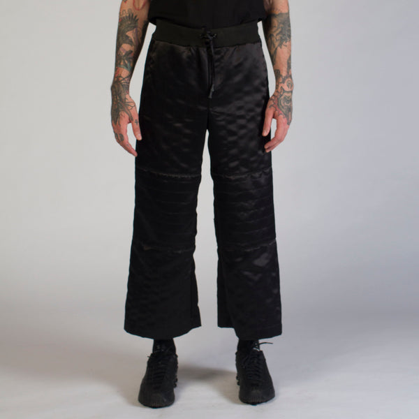 WATCHTOWER satin pants