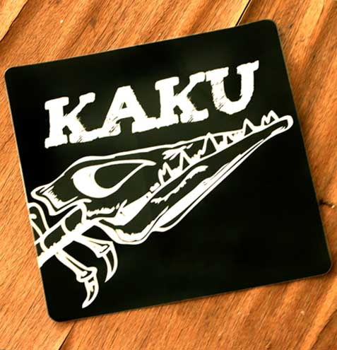 Kaku Favicon Sticker