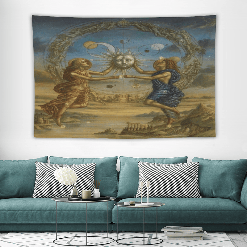 Customizable Knight Tapestries Decorative Wall Hanging 39'' x 59'' - EEASYKART.com