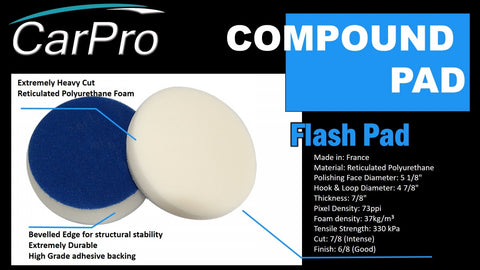 CarPro Flash Pad (3, 6吋)