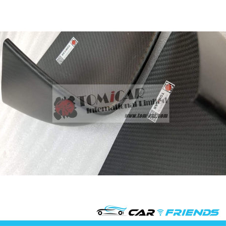 Model X 碳纖側鏡鏡殼 (Dry Carbon) - CarFriends Hong Kong