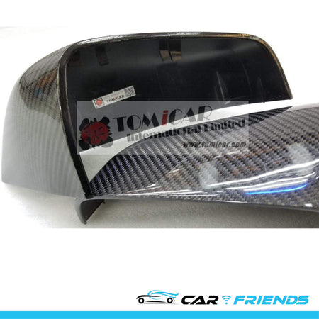 Model S 碳纖側鏡鏡殼 Replacement Side Mirror Case - CarFriends Hong Kong