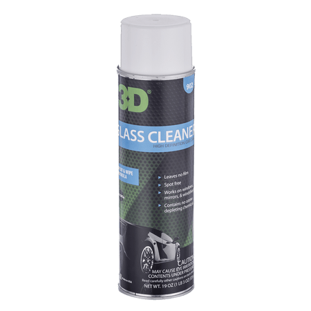 3D 玻璃清潔抗霧 GLASS CLEANER 19OZ