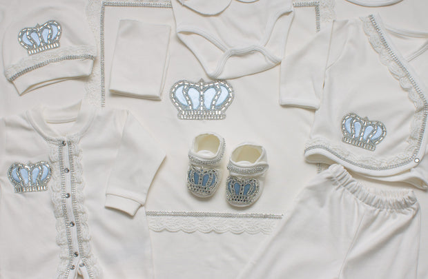 Baby Boys Crown Set