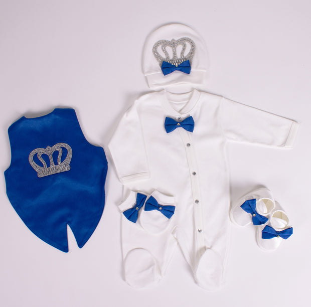 Newborn Royal Blue Set
