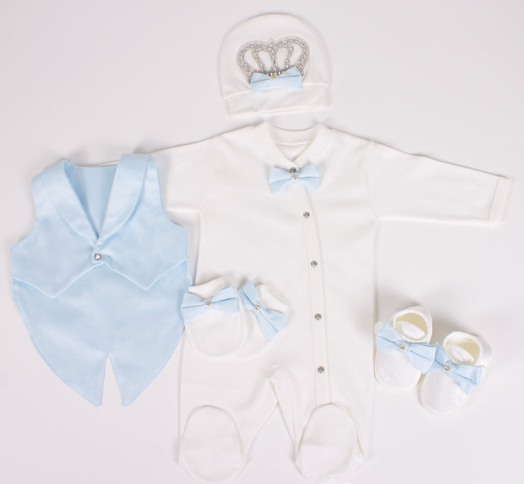 Light Blue Baby 5-Piece Set