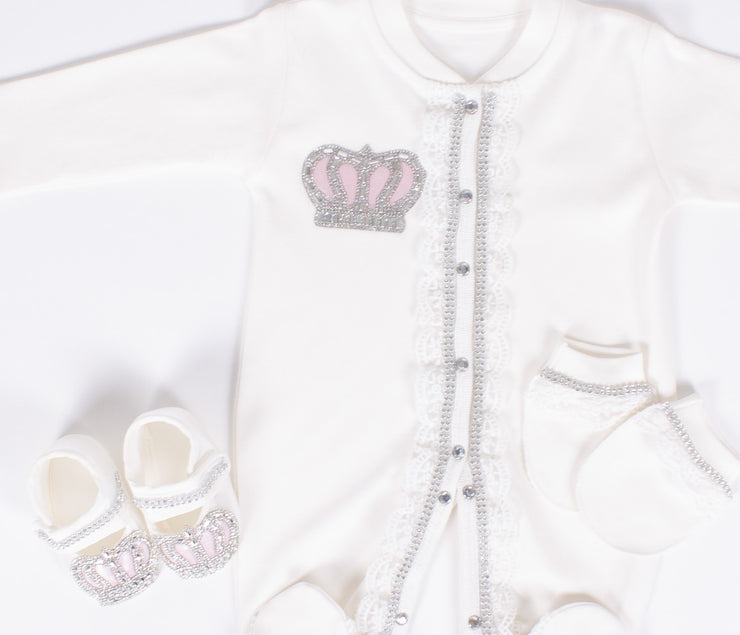Newborn Homecoming Crown Set