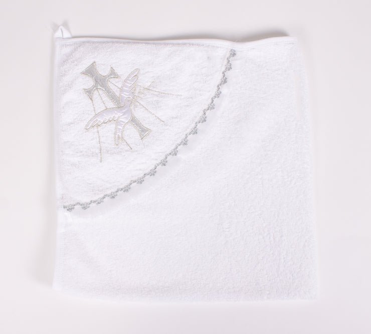 White Baptism Towels