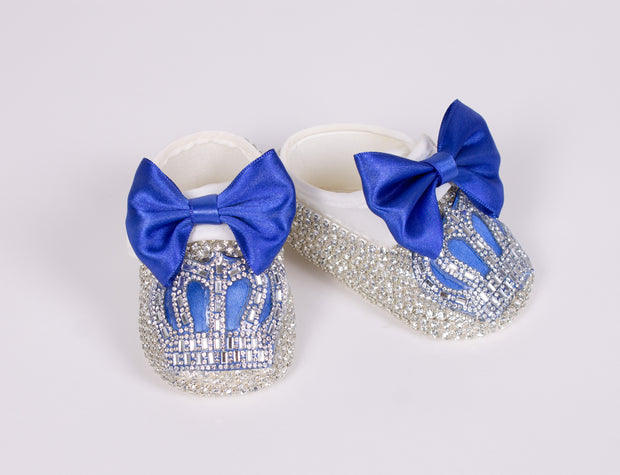 Royal Blue Shoes 0-3 m