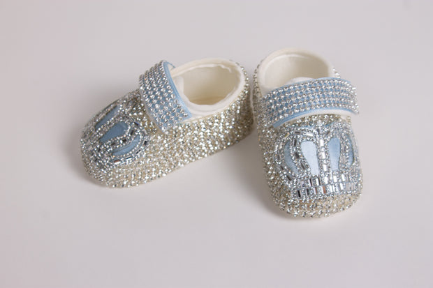 Baby Boys Light Blue Shoes