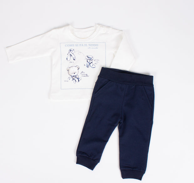 Boys Sweatpants and Jacket Set