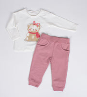 Girls Teddy Bear Set