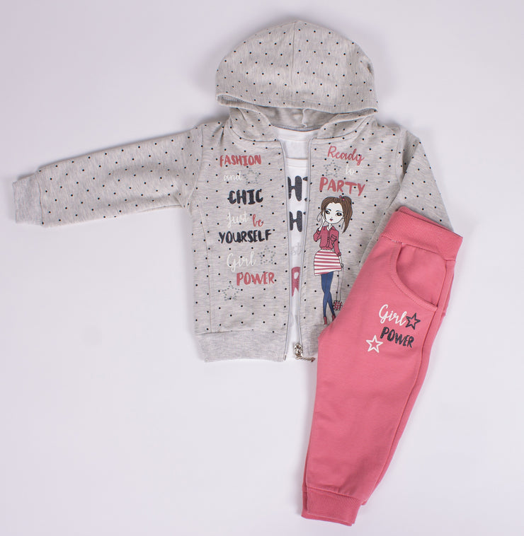 Girls Chic 3 Piece Set
