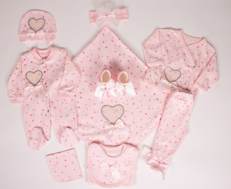 Baby Girls Newborn Star Set