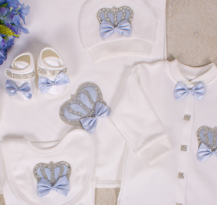 Light Blue Baby Set