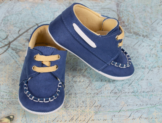 Boys Light Blue Cute Shoes