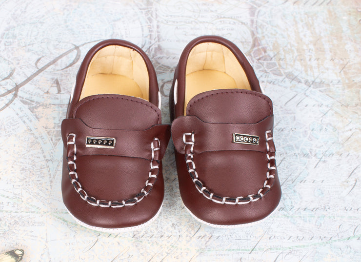 Baby Boys Brown Shoes