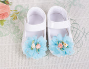 Baby Girls Flower Shoes