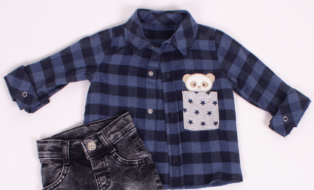 Boys 3 Piece Long Sleeve  Set