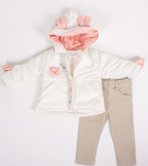Girls Light Jacket Set
