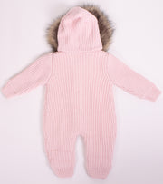 Baby Girls Winter Knitted Jumpsuit Outerwear