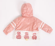 Girls 3 Piece Light Jacket Set