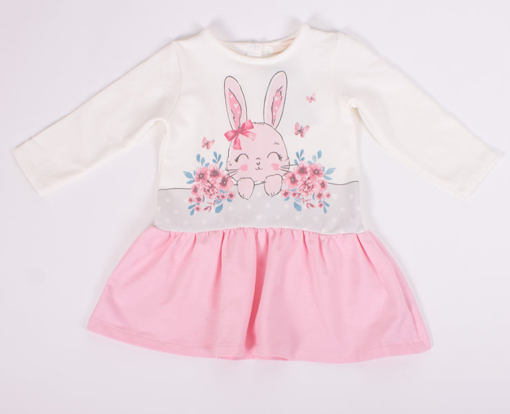 Girls Bunny Dresses with Long Sleeves