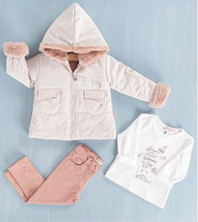 Warm Jacket Set