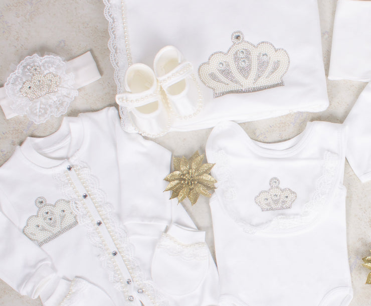 White Crown Set