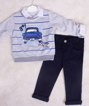 Long Sleeve Boys 3 Piece Set