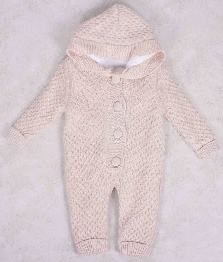 Baby Knitted Winter Wool Jumpsuit