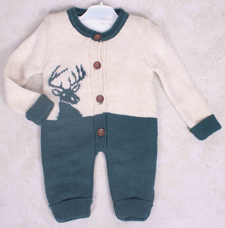 Baby Winter Knitted Romper/ Jumpsuit
