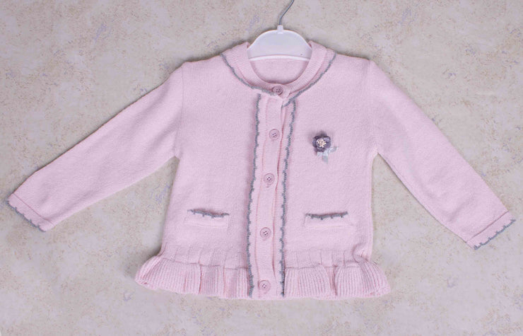 Girls Pink Cardigan/ Sweater