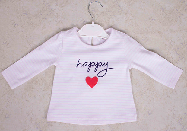 Girls Happy T-shirt
