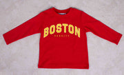 Boys Long Sleeve Boston T-shirt