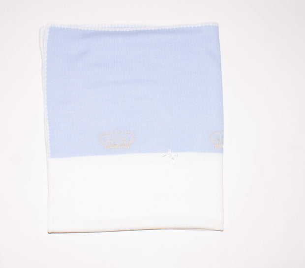 Baby Boys Prince Blanket - Elma's Clothing