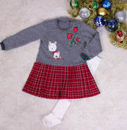 Baby Girls' Red Dress - Elma's Clothing