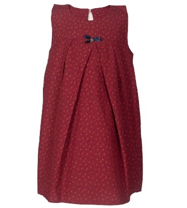 Baby Girls' Sleeveless Floral Dress - Elma's Clothing