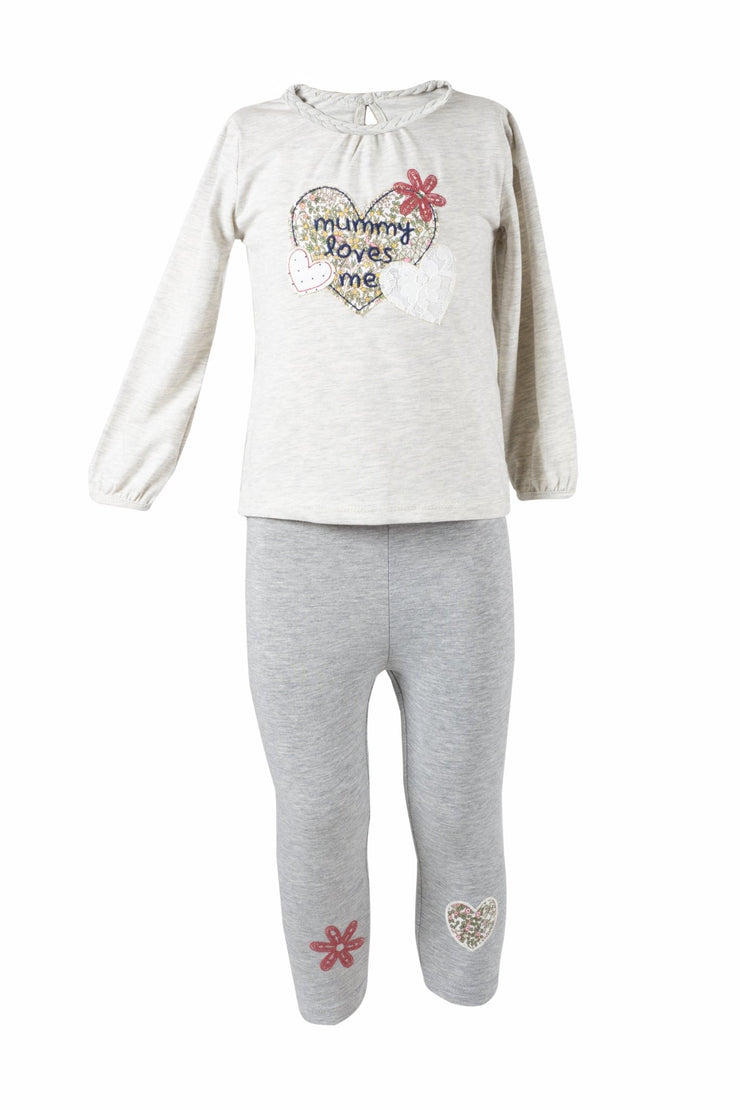 Baby Girls' T-shirt & Leggings - Elma's Clothing