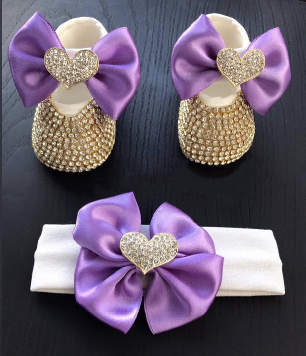 Baby Heart Shoes - Elma's Clothing