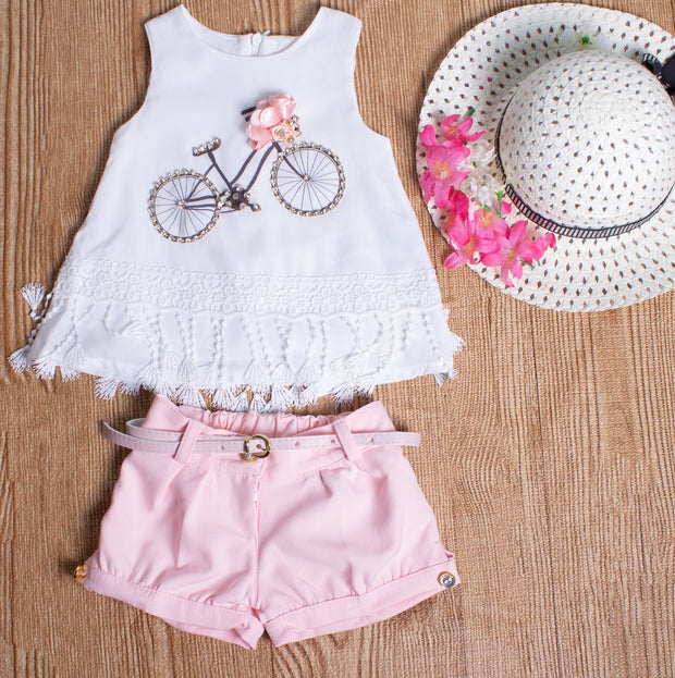 Bicycle Set With Shorts - Elma's Clothing