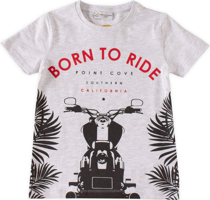 Born to Ride T-shirt - Elma's Clothing