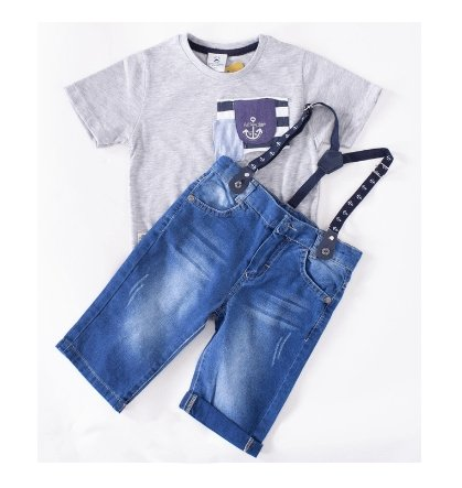 Boys' Anchor Set - Elma's Clothing