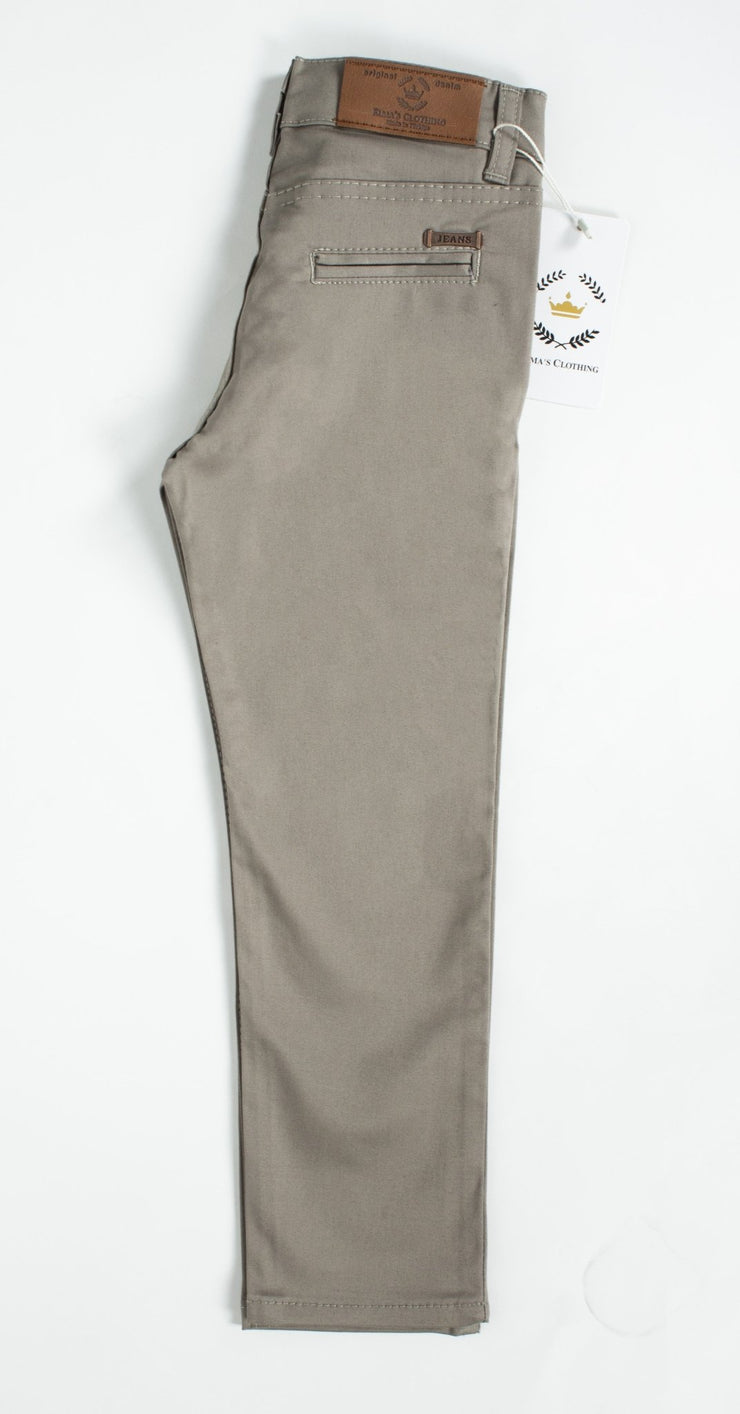 Boys Grey Pants - Elma's Clothing