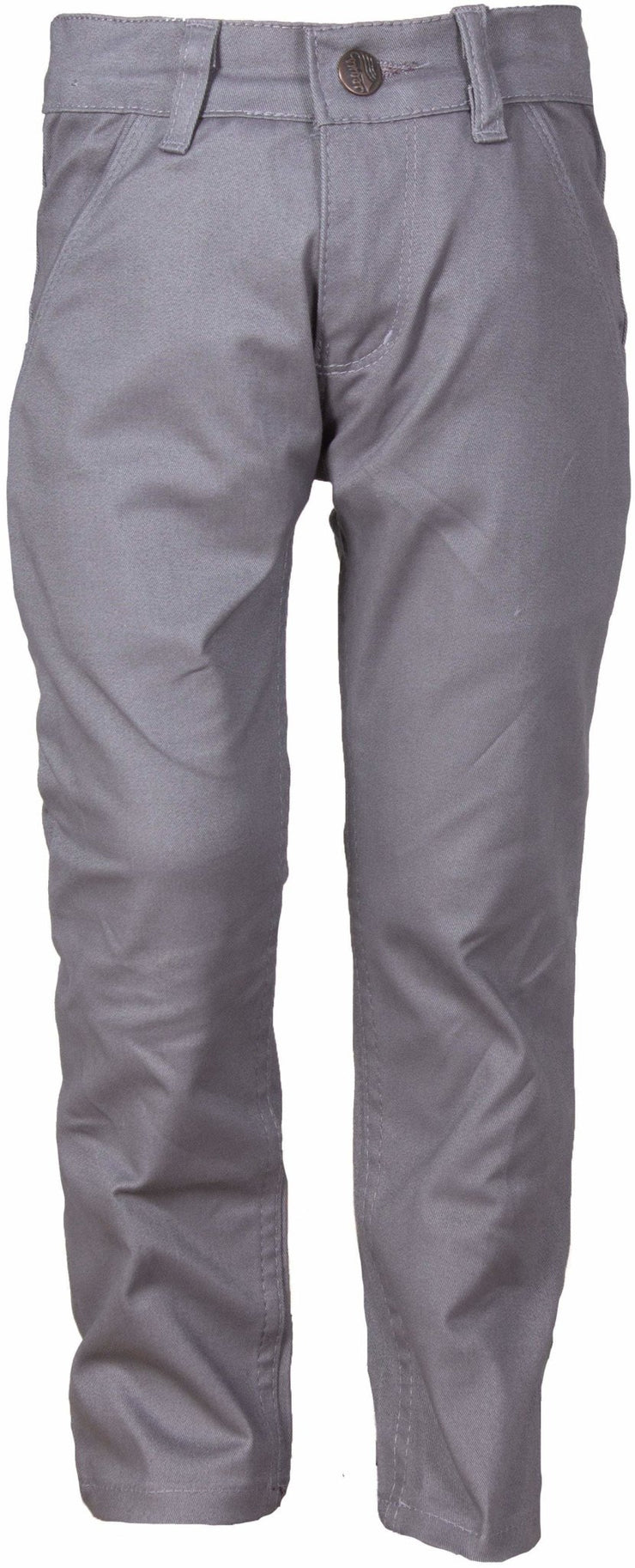 Boys Light Gray Pants - Elma's Clothing