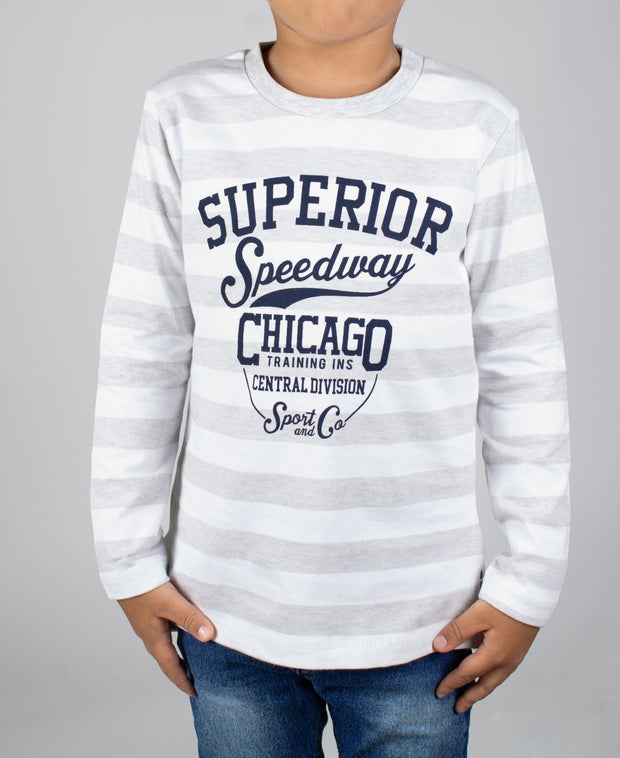 Boys' Long Sleeve T-shirt - Elma's Clothing